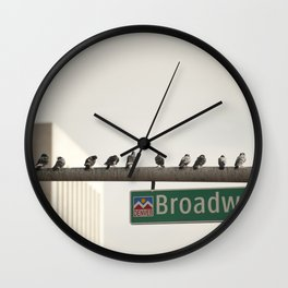 Boids Wall Clock