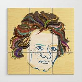 Beethoven Wood Wall Art