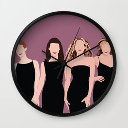Sex and the City Girls Wall Clock