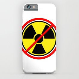 Against Atom iPhone Case
