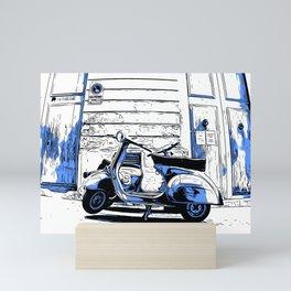 Slow Cruise Mini Art Print