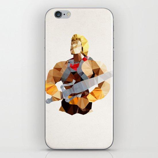 Polygon Heroes - He-Man iPhone & iPod Skin