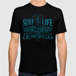 Big Bleu Design Stay Salty T-shirt