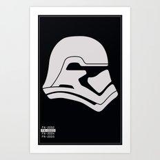 FN-2003 Stormtrooper profile Art Print
