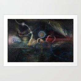 """Twenty Twelve Nataraja"" Art Print"