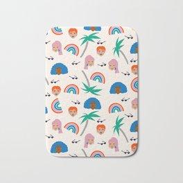 Babes in the Tropic Bath Mat