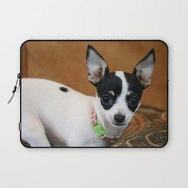 Puppy Portrait Laptop Sleeve