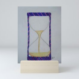 Sand timer Mini Art Print