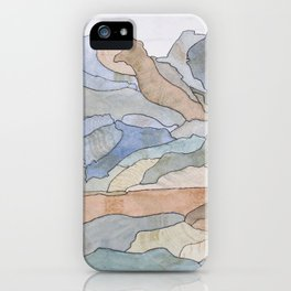Mountain Regions iPhone Case