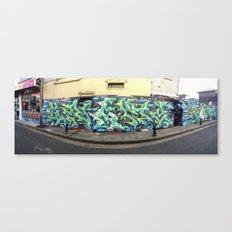 Newtown Wall Canvas Print