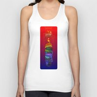totem Tank Tops featuring Totem by David Lanham