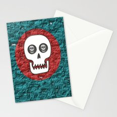 Skull Poppy Stationery Cards