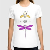 insects T-shirts featuring Two Insects by Ukko
