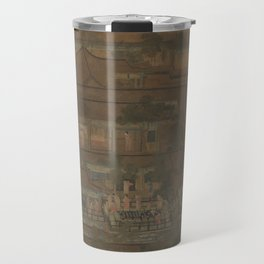 The Five Dynasties   Northern Song Dynasty, the famous name, the axis, the Palace banquet Travel Mug