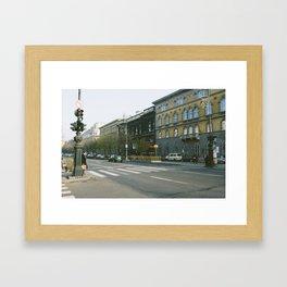 Andrássy út Framed Art Print