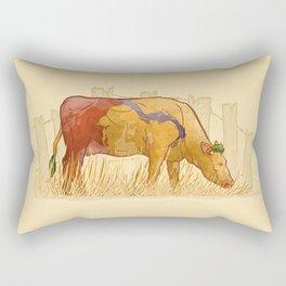 Ode to Heffer Rectangular Pillow