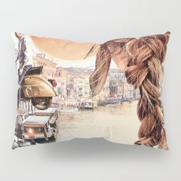 An American in Venice Pillow Sham