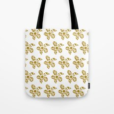 Mosaic Flowers Tote Bag