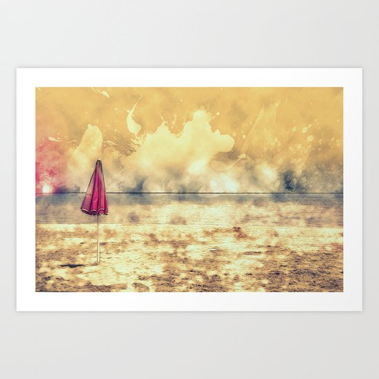 Echo Beach Art Print