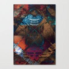 disquite twelve (speaking in a secret language) Canvas Print