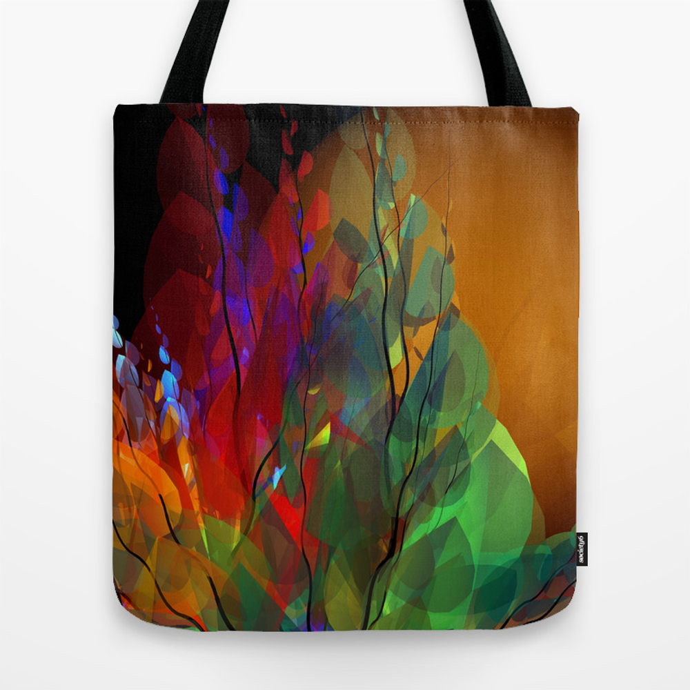 Flower Design -01- Tote Purse by Issabild (TBG9815989) photo