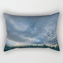 NYC: Smith and Ninth Rectangular Pillow
