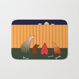 At The Bad Time On The Bad Place Bath Mat