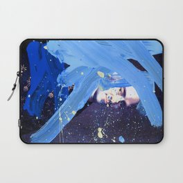 Blue Explosion Laptop Sleeve
