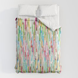 vertical brush strokes  Comforters