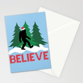 Cryptid Christmas Miracle Stationery Cards