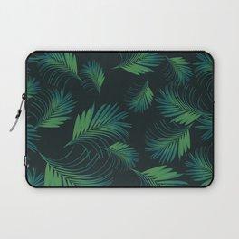 Tropical Night Palms Pattern #1 #tropical #decor #art #society6 Laptop Sleeve
