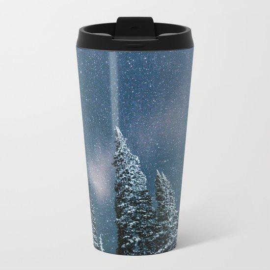 Winter Sky Metal Travel Mug
