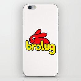 Brolug iPhone Skin