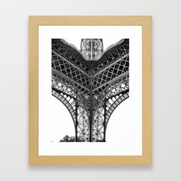 Paris [Sky cut N°18] France Framed Art Print