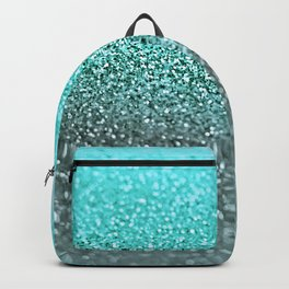 TEAL GLITTER Backpack
