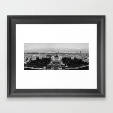 PARISIAN PANORAMA. Framed Art Print