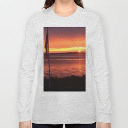 Sunset Over the Ocean Long Sleeve T-shirt