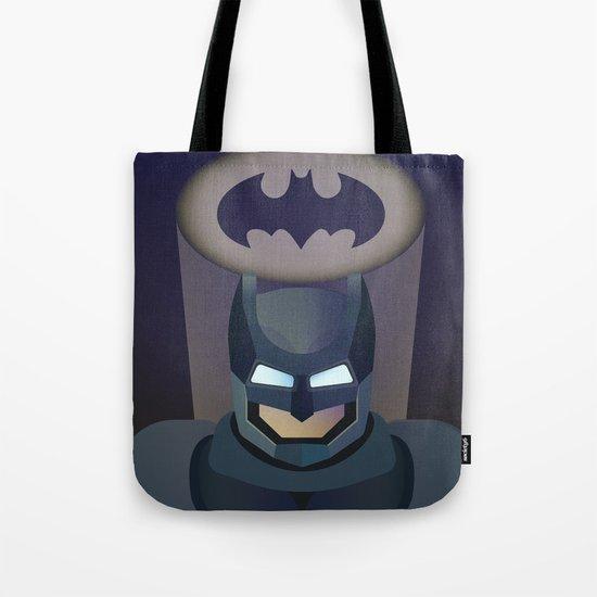 Bat man helmet fanart Tote Bag