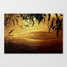 Honey Ripples Canvas Print
