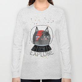 Bowie Cat Long Sleeve T-shirt