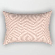 Peach Texture Rectangular Pillow