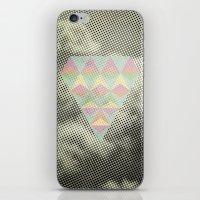 diamond iPhone & iPod Skins featuring Diamond by Metron