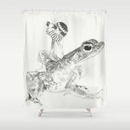 A Bigger World #3 Shower Curtain