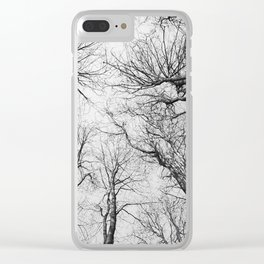 Routes To The Sky Clear iPhone Case
