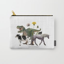 For Belly Dance Students: The Flora and Fauna of Composition Carry-All Pouch
