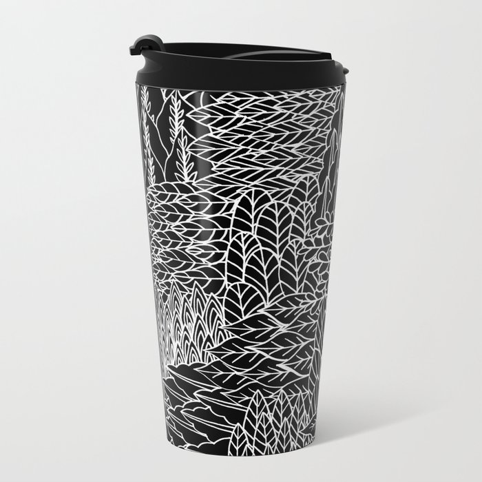 This way, that way Metal Travel Mug