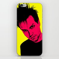 blink 182 iPhone & iPod Skins featuring Mark Hoppus (Blink-182) by Blake Lee Ferguson