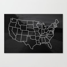 Ride Statewide - USA Canvas Print