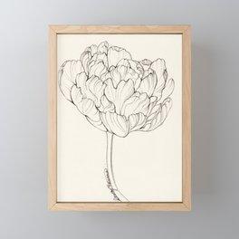 Diamond Tulip Framed Mini Art Print