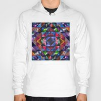 quilt Hoodies featuring Space Quilt by deff